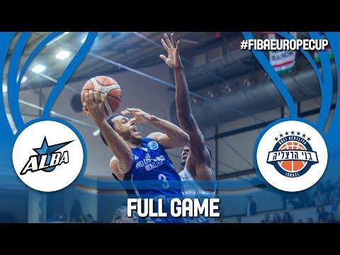 Alba Fehervar (HUN) v Bnei Rav-Bariach Herzliya (ISR) - Full Game - FIBA Europe Cup 2017-18