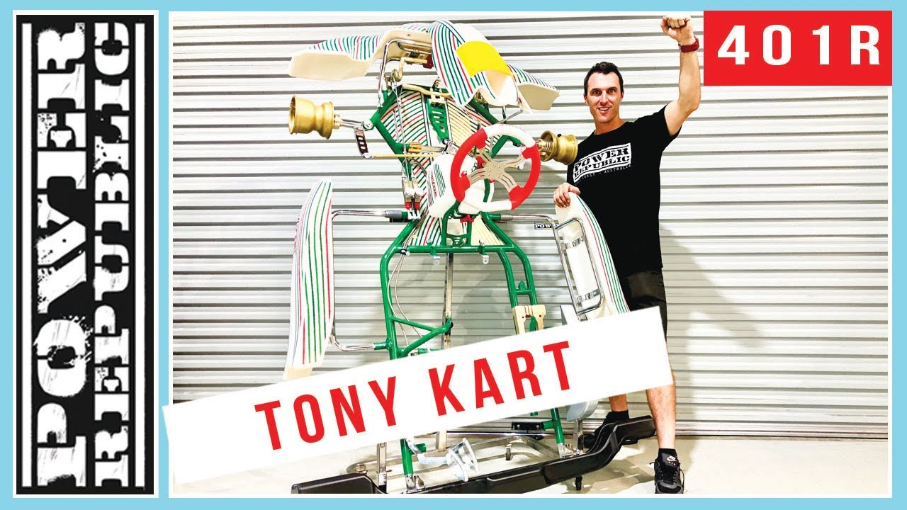 Introducing The Tony Kart 401R - POWER REPUBLIC