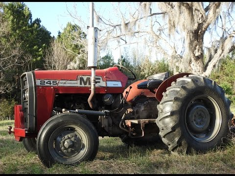Massey Ferguson 245 Maintenance, Paint and Fix up