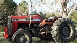 Massey Ferguson 245 Maintenance, Paint and Fix up