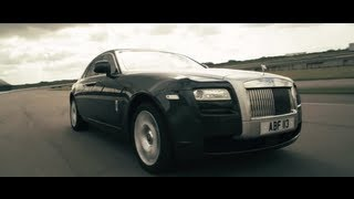 New Rolls Royce Ghost Silent at 140mph Car Commercial - Carjam TV HD 2013 Car TV Show