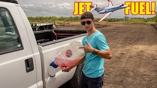 We Put JET FUEL In Our Diesel Truck!