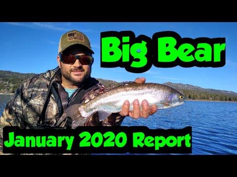 Big Bear Fishing Report | January | 2020