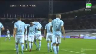 Celta 4 - 1 Barcelona. Septiembre de 2015