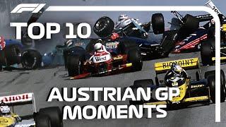 Top 10 Austrian Grand Prix Moments