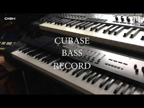 Disk Multimedia / Richard Scheufler - Video 7. (CUBASE - Bass Record)