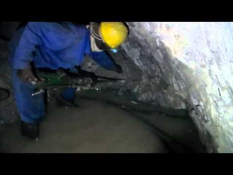 underground mining of antimony ore in Zimbabwe