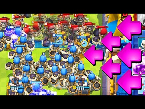 20+ GIANT SKELETONS : Clash Royale : NEW UPDATE IS AMAZING!