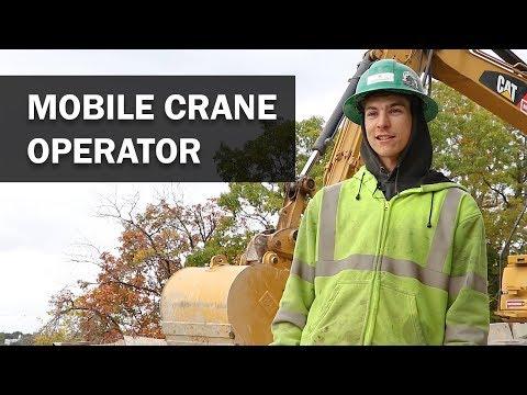 Job Talks - Mobile Crane Operator - Ben Discusses His Path To Becoming A Crane Operator