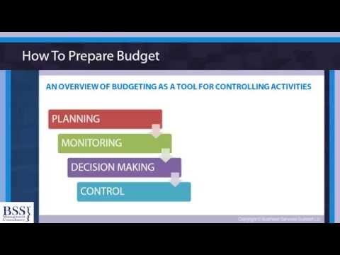 Online Courses-  Budgeting Skills For Non Financial Managers -www.businessservicessupport.com