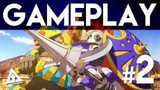 Little Battlers eXperience 3DS Gameplay Part 2 (LBX)