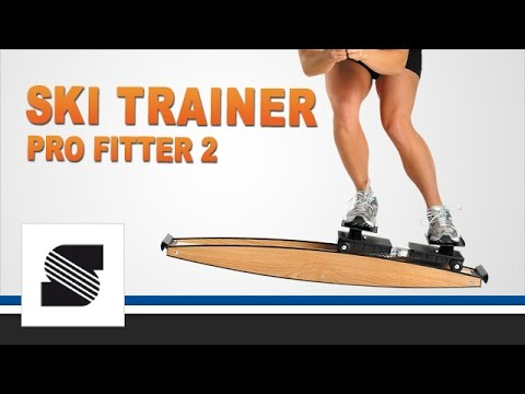 "Fit mit ""Ski Trainer Pro Fitter 2"" 3D Crosstrainer"