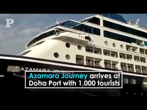 Azamara Journey arrives at Doha Port