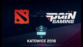 Dota 2 - Show Time vs paiN - Game 2 - Ro12 - ESL One Katowice SA Qualifier