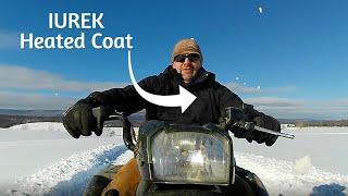 IUREK Heated Coat! Winter Storm Tested!!
