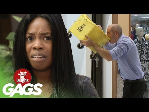 Thirst Quenching Mop Bucket Water - Just For Laughs Gags