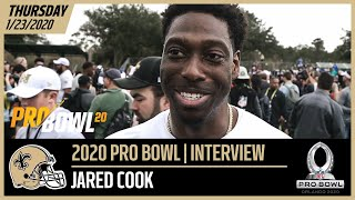 Jared Cook Having Fun w/ Saints Teammates at 2020 NFL Pro Bowl