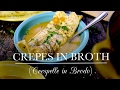 Crepes in Broth (Crespelle in Brodo) | Kitchen Vignettes | PBS Food