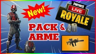 NEW STARTER PACK | skin + sac à dos + 600 v-bucks ►OBJ 10k = FaceCam◄ #FORTNITE BATTLE ROYALE