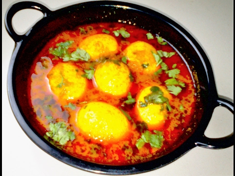 egg curry - anda curry or egg curry masala gravy