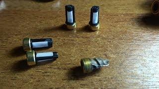 Замена микрофильтров топливных форсунок