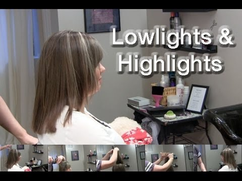 How to do low lights and highlights foiling weaving and slicing how to do low lights and highlights foiling weaving and slicing urmus Gallery