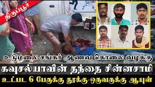 Sankar murder Six sentenced to death in honour killing case, Kausalya welcomes verdict
