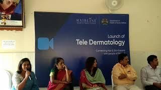 Dr. Premalatha speaking in Magadi General Hospital