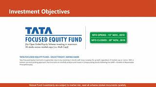 TATA Focused Equity Fund - NFO