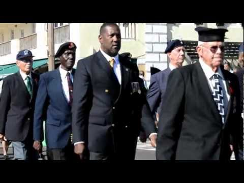 Bermuda War Vets March On Nov 11 2012