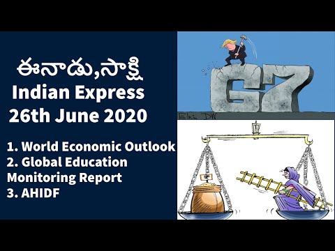 26th JUNE 2020 EENADU & INDIAN EXPRESS News Analysis