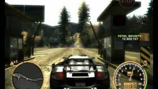need for speed most wanted porsche carrera gt top speed