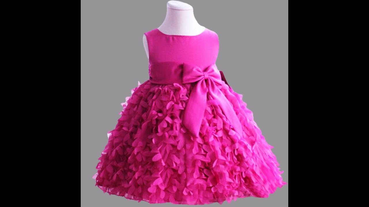 Cute Netted Frocks Collections For Small Kids || Party ...