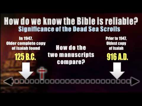 Is the Bible Reliable? I'm Glad You Asked!