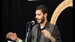 شاعر أهل البيت محمد الحرزي قصيدة (تقاد لها)