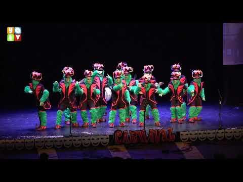 El Gring pesadilla antes de carnaval Chirigota de La Línea Carnaval 2020