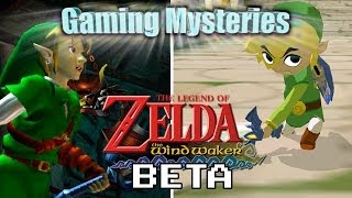 Gaming Mysteries: Legend of Zelda The Wind Waker Beta (GCN)