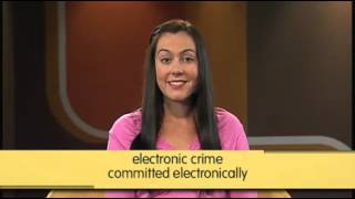 Ielts Tv - Study English - Series 1, Episode 1 Electronic Crime - Australian Network (c)