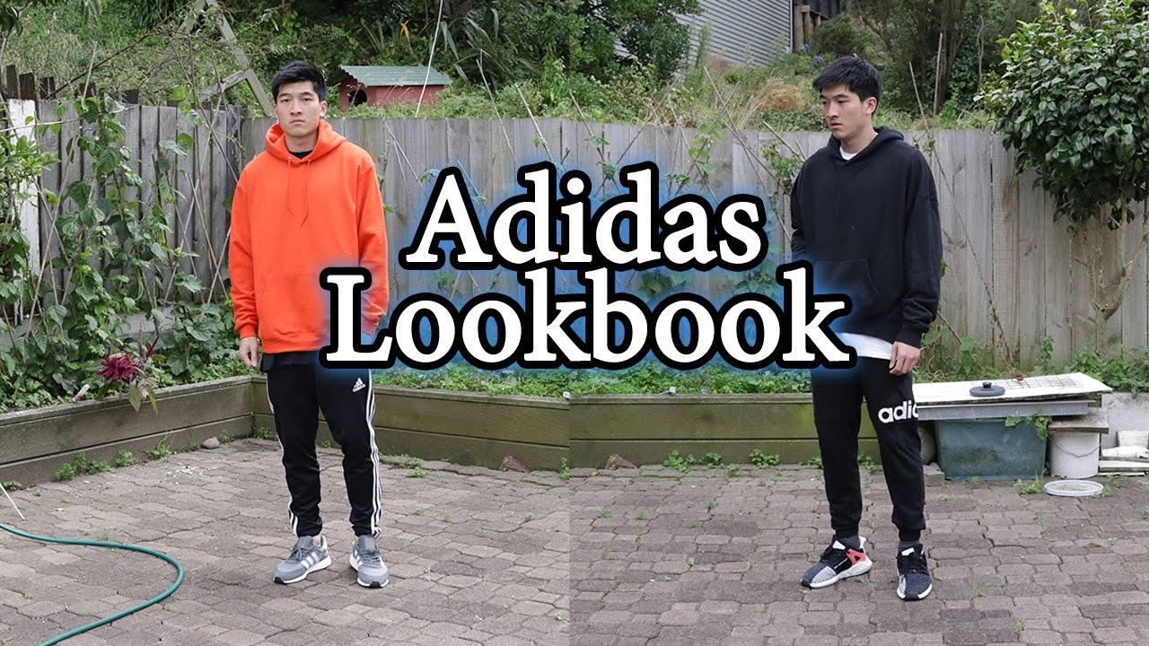 fa6c8fd0220 Cozy Outfits with Adidas Pants and Sneakers (Iniki and EQT) - YouTube