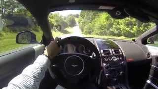 2012 Aston Martin Virage POV Test Drive