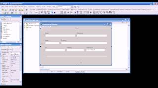 Delphi 7 - Interface Cadastro de Clientes (Access)