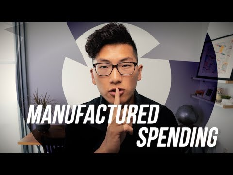 What Is Manufactured Spending? (If You Know, You Know...)