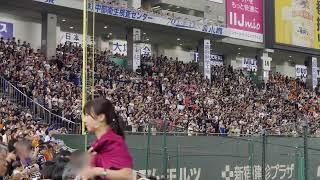 2017年6月4日 読売ジャイアンツvsオリックス・バファローズ 東京ドーム ...