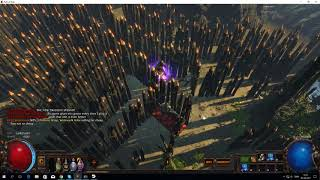 Path of exile rocks blocking the way in HO