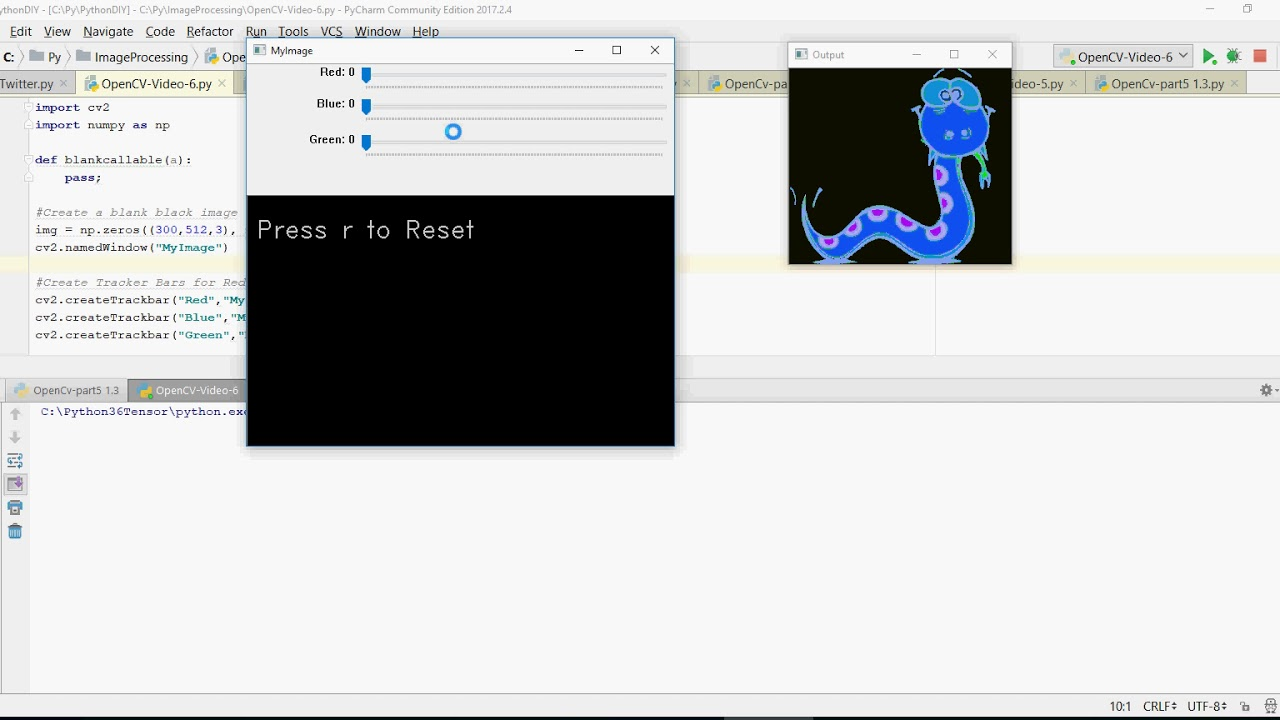 OpenCV - Image Processing -Do it yourself- part -6