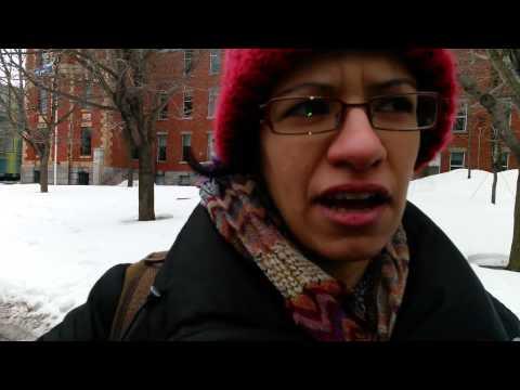 2/8 Consulat Général d'Algérie à Montréal. Des citoyens s'expriment 15/03/2014