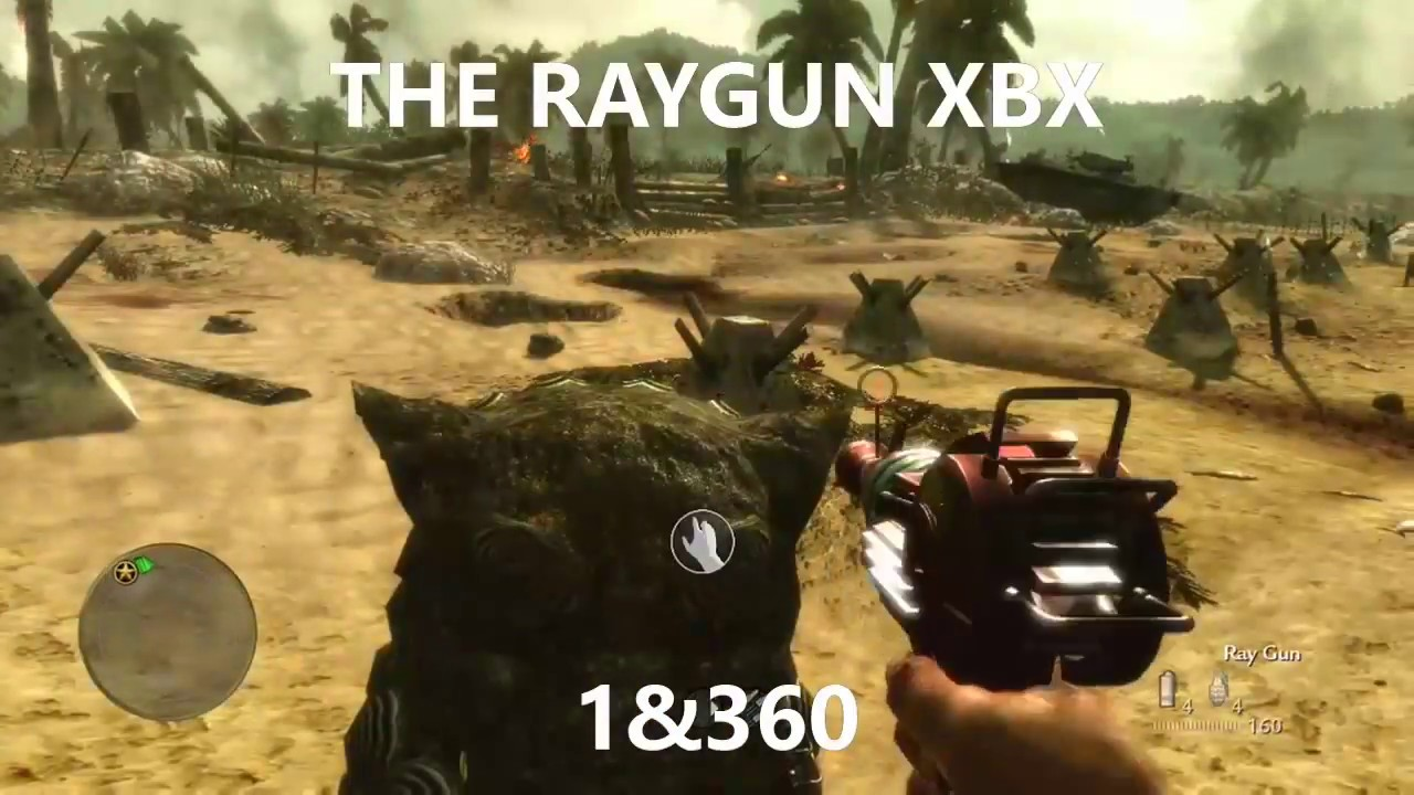 how to get the raygun on world at war