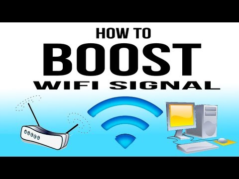 How To Boost WiFi Signal