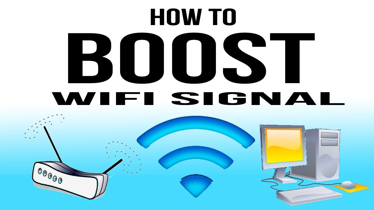 how to boost wifi signal youtube. Black Bedroom Furniture Sets. Home Design Ideas