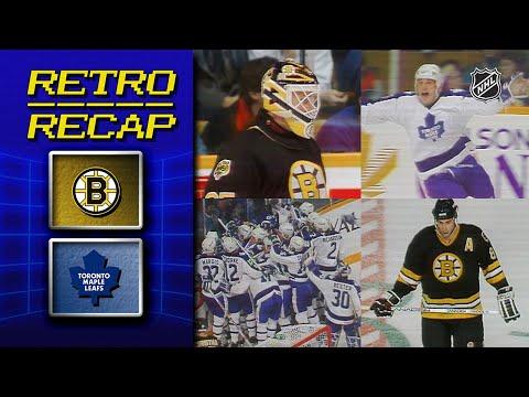 Leafs Shock Boston With Amazing Comeback | Retro Recap | Bruins Vs. Maple Leafs